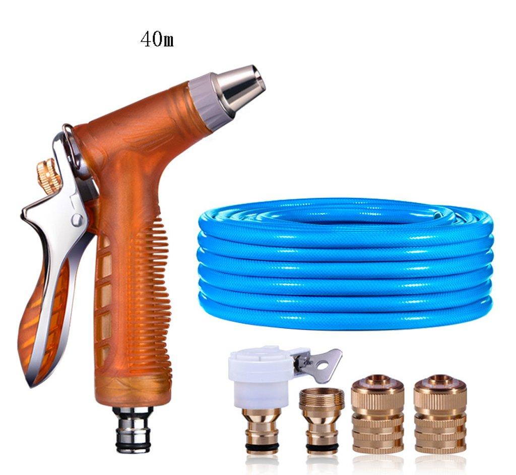 SHI XIANG SHOP Auto Home Hochdruck Wasserpistole Orange Länge Optional A+ ( größe : 40 meters )