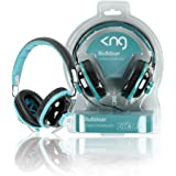 KNG Bulldozr Chaos Constructor Designer Headphones - Turquoise