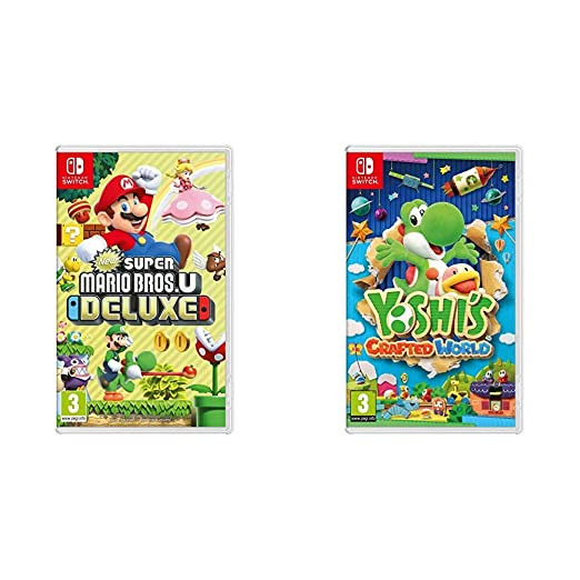 New Super Mario Bros. U Deluxe + Yoshis Crafted World ...