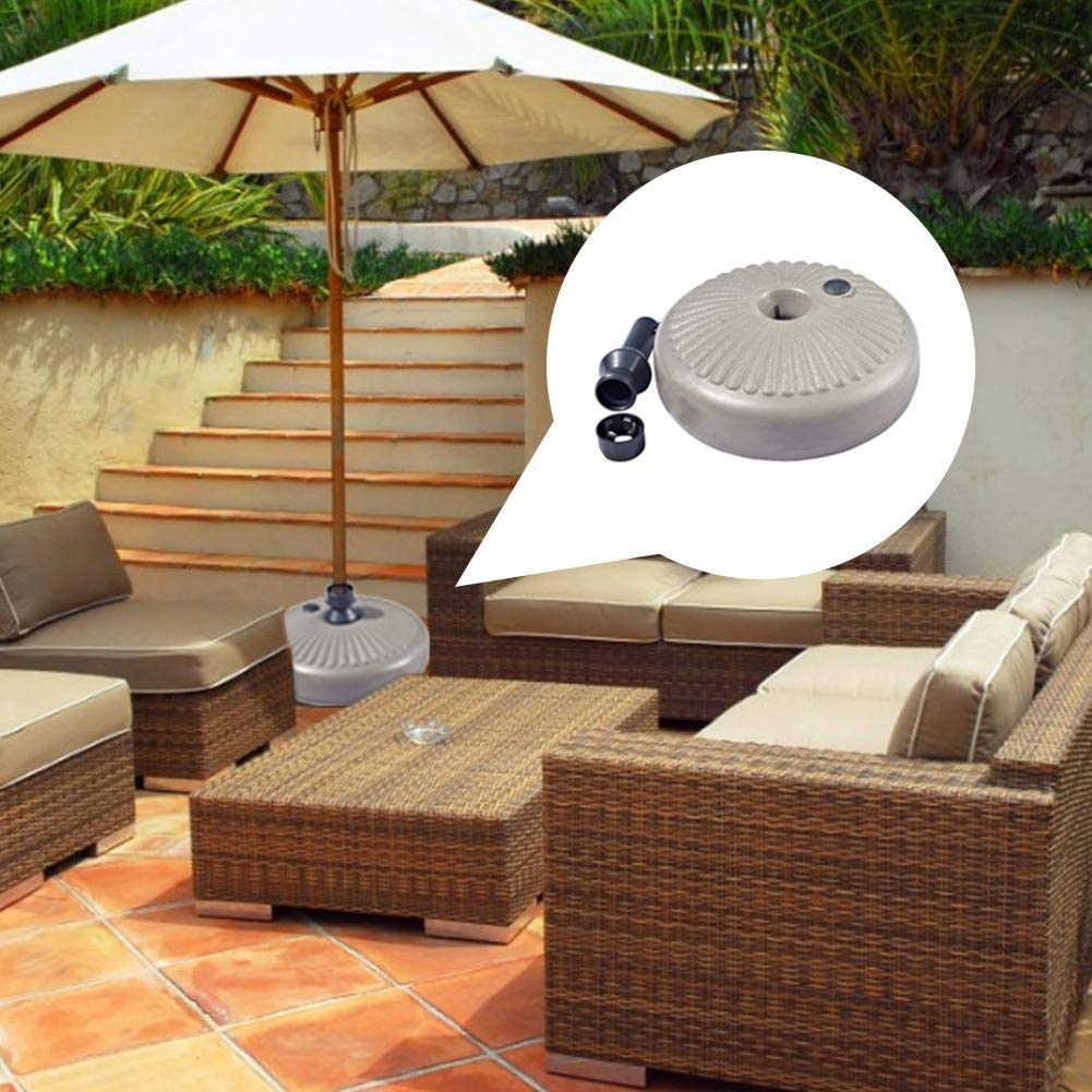Bloomma Heavy Duty Umbrella Base Outdoor Parasol Stand Water Filled for Patio Umbrellas for Outdoor Lawn Garden