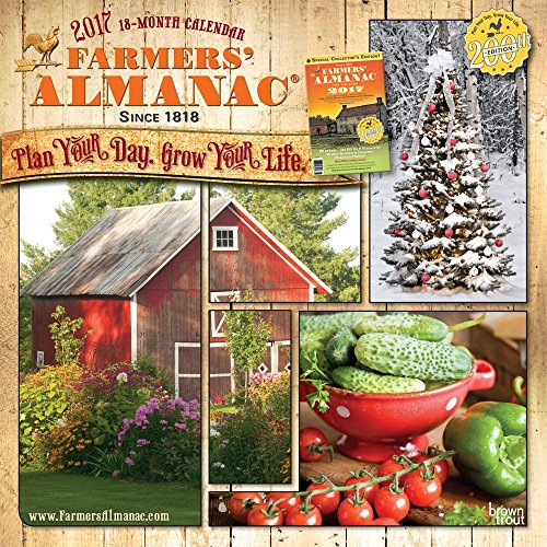 The Old Farmer 39 S Almanac 2017 Gardening Calendar 07 26 2016