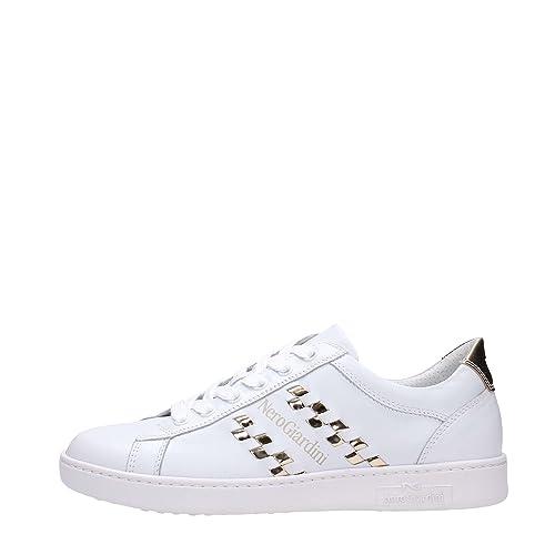 Nero Giardini 7270D Sneakers Donna Bianca 36  Amazon.it  Scarpe e borse 432b560d1f9