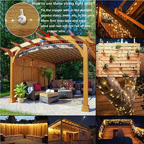 Lámpara de alambre de cobre solar 15m150LED ocho funciones patio luz de la luz a prueba de agua día de Navidad linternas de iluminación: Amazon.es: Iluminación