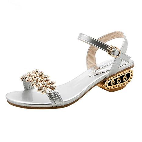 Heels Schuhe Blockabsatz High Damen Ba Zha Hei Sandaletten Plateau A345RjLq