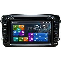 SWTNVIN Radio Estéreo para Coche Fits for Mercedes-Benz C-W209/C-W203/Viano/Vito/Vaneo/A-W168/G-W463/CLK-C209/W209 7…
