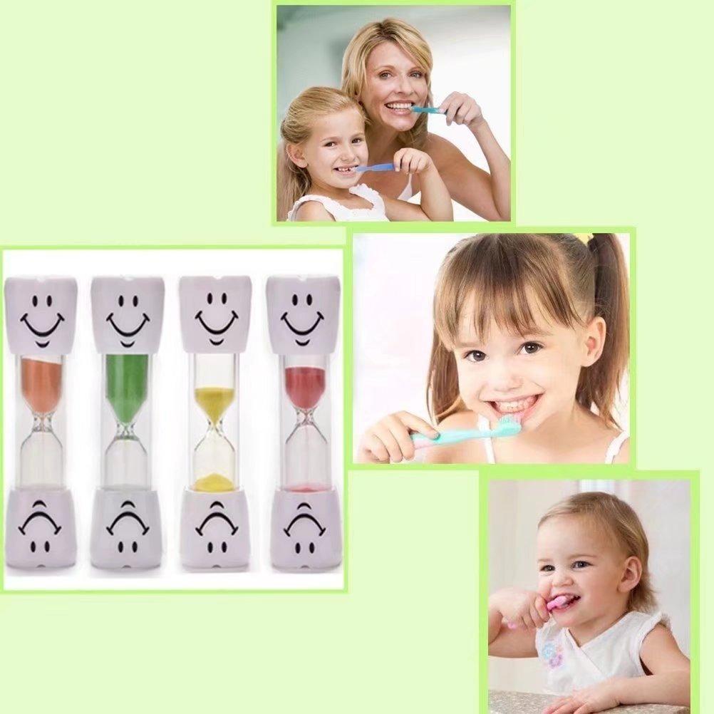 RICISUNG Brosse /à dents pour enfants de 3 minutes avec sablier