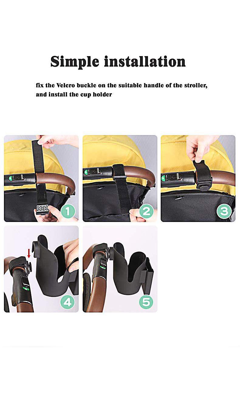 Handy // als Kinderwagen Fahrr/äder Milchflasche Rollstuhlzubeh/ör Kinderwagen Becherhalter // Universal Becherhalter // Becherhalter // Expander f/ür Wasserflasche