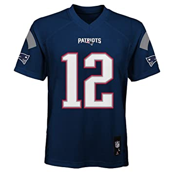 0dc1a201 Outerstuff Tom Brady New England Patriots Youth Navy Jersey