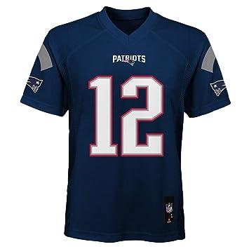 f902e105 Outerstuff Tom Brady New England Patriots Youth Navy Jersey