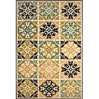 Feizy 5913445FSNDBRNA20 Lucka Area Rug, Sand/Brown
