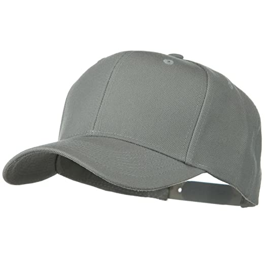 1b98cd97fcdc72 OTTO Solid Wool Blend Prostyle Snapback Cap - Grey at Amazon Men's Clothing  store: Baseball Caps