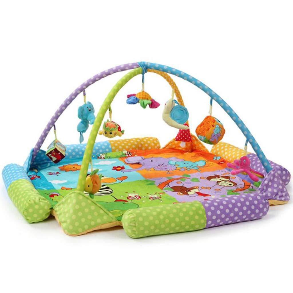 【保障できる】 プレイマット :&アクティビティジム 2、新生児音楽と音付きプレイマット、幼児/幼児/新生児 (色 B07ML2PPFY : 2) B07ML2PPFY 2, ササクラスポーツ:81ae912f --- svecha37.ru