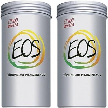 Wella EOS - Tinte para plantas (2 unidades, 120 g, base de vegetal)