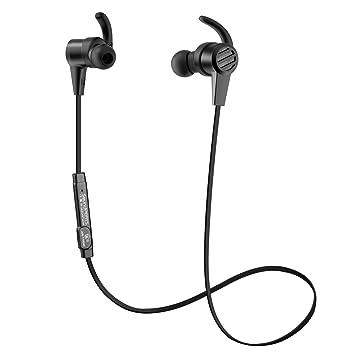 Auriculares Bluetooth, SoundPEATS inalámbricos magnéticos deportivos (Bluetooth 4.1, sonido de alta fidelidad, APTX, 8 horas de tiempo de reproducción, ...