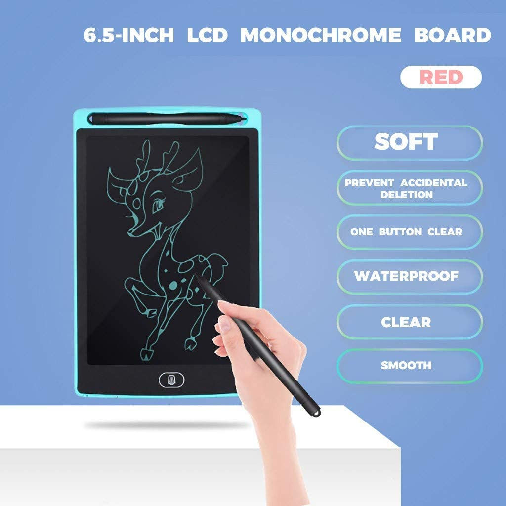 Blue-Colorful Writing Colorful LCD Writing Tablet NOBES 8.5 Inch Drawing Tablet Kids Tablets Doodle Board School and Office Drawing Board Gifts for Kids and Adults at Home