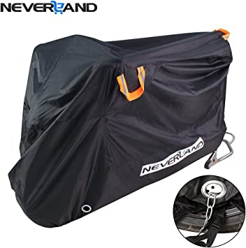 Motorcycle Cover Bike Waterproof Outdoor Rain Dust Proof Large 94*48*56 Inches