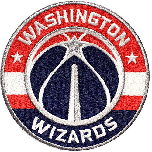 Official Washington Wizards Logo Large Sticker Iron On NBA Basketball Patch Emblem by Patch Collection