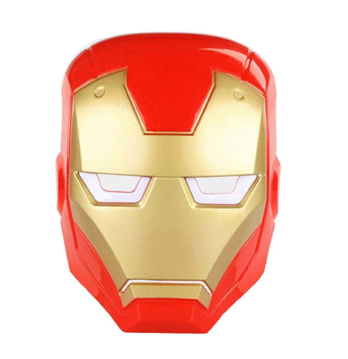 Inception Pro Infinite Máscara - Hierro - Hombre - Adultos - Niños - Carnaval - Halloween - Disfraz - Cosplay: Amazon.es: Juguetes y juegos