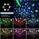 YSD Night Lighting Lamp Modern Star Projector Rotating Sky