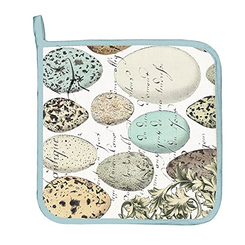 Michel Design Works Cotton Potholder, Nest & Eggs