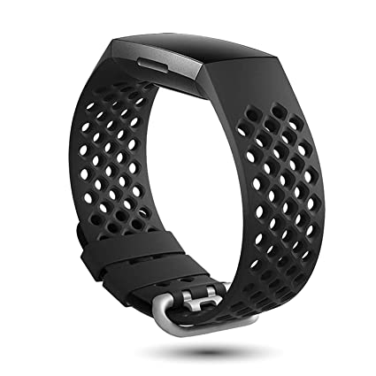 X4-TECH Colors Band Compatible with Fitbit Charge 3 & Charge 3 SE Sports  Wristband for Women Men