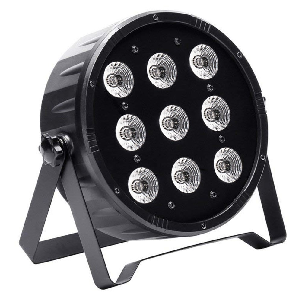 Amazon.com: U`King DJ Par Lights for Stage Lighting RGBW with 9LEDs X 10 W by DMX Controlled for Party Wedding Light: Musical Instruments