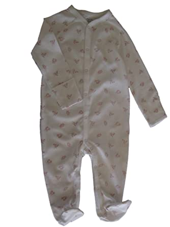 b8322de52 Amazon.com: RALPH LAUREN Polo Baby Girls Boys Bear Print Footed Unisex  Coverall Romper (Pink Multi, 9 Months): Clothing