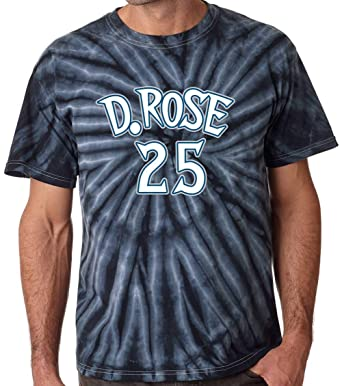 c8fe9c403 Prospect Shirts TIE-DYE Black Minnesota Rose D Rose Logo T-Shirt at ...
