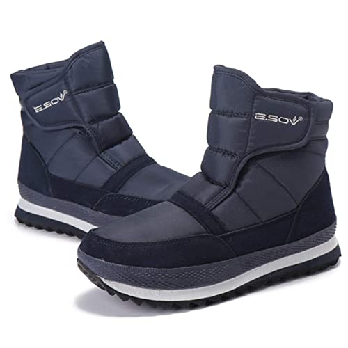 Gracosy Mujer Botas de Nieve Unisex Invierno Impermeable Fur Boots Botines Antideslizantes Boots Zapatillas Totalmente Alineada Botas Piel Caliente ...