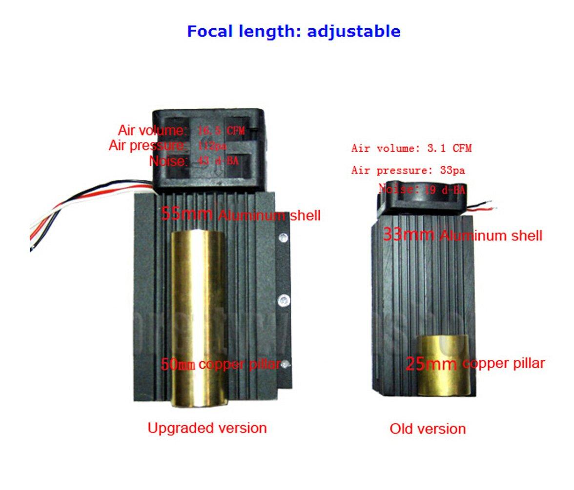 SUNWIN 4W 4000mW Blue Light Laser Module 450nm For DIY Engraving Sign Making Printing