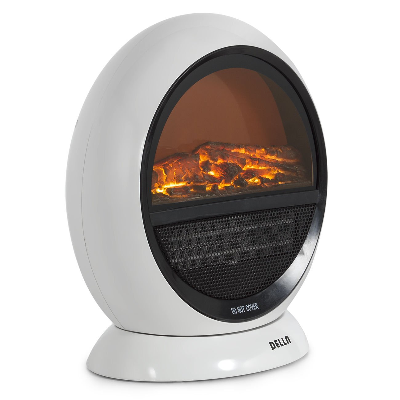 amazon com 1500w fireplace electric heater portable oscillating