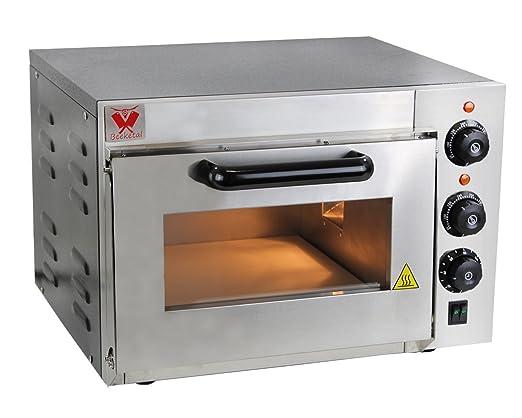 Beeketal BPO Serie - Horno profesional para pizzas con superficie ...