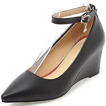 designer fashion b18c4 dddd2 KUKI Frauen High Heel Trade Schuhe Damenschuhe Keilabsatz ...