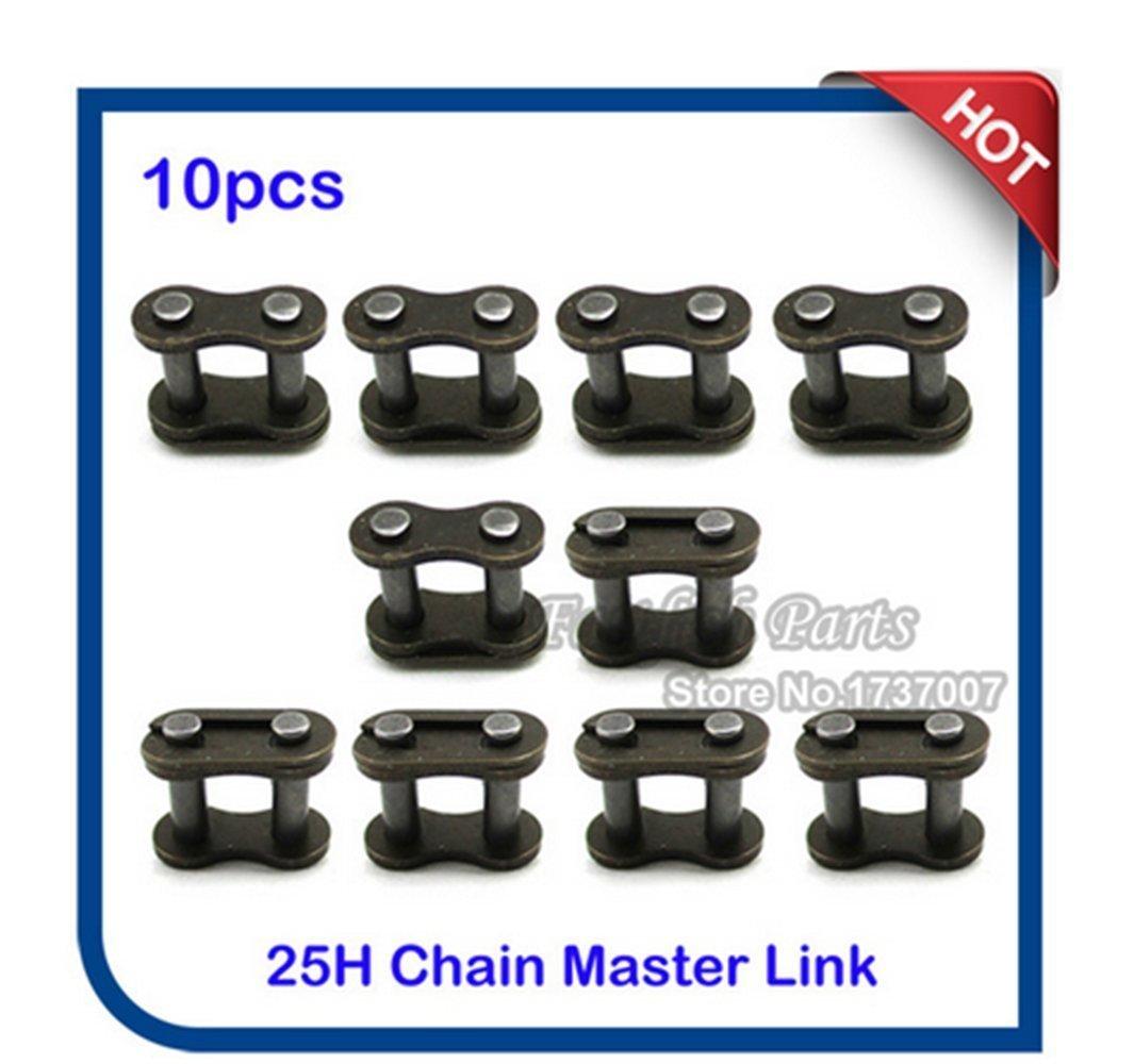 10pcs/pack 25H Chain Spare Master Link For 33cc 43cc 47cc 49cc 2 Stroke MiniMoto Kids Gas