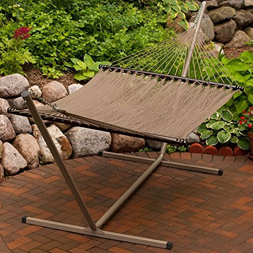 Algoma 4910 Two Point Tight Weave Caribbean Hammock
