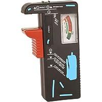 Skytronic Mercury - Comprobador de pilas AA, AAA, PP3 y pilas de botón