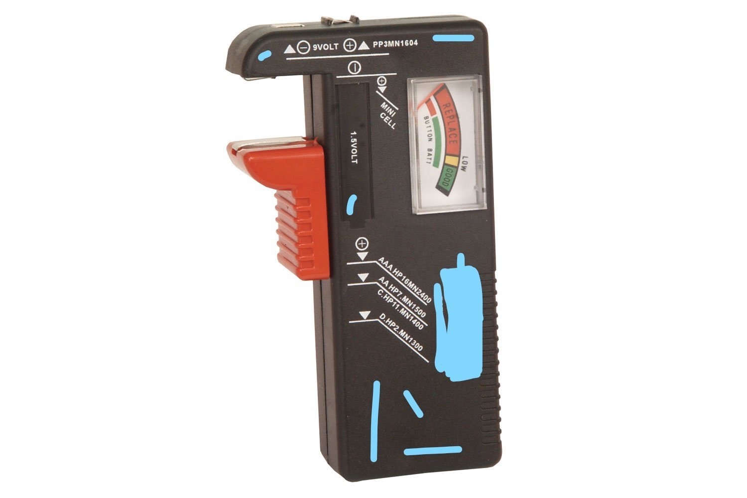 Chinese unbranded battery tester kenable 1