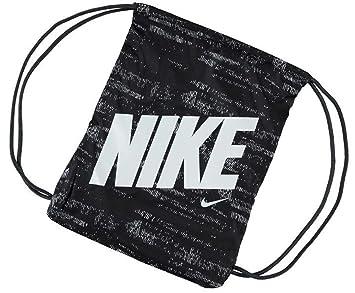 Mens Ladies Kids Unisex Genuine Nike Graphic Gym Sack Pack Bag Accessories  (Black White b5eac31c2951e