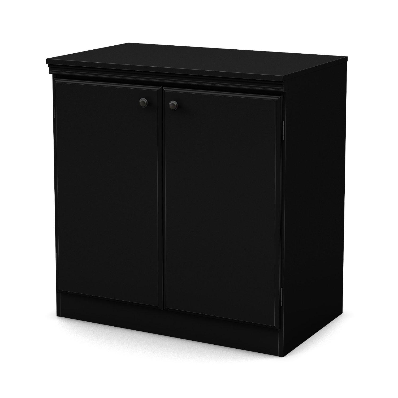 Amazon.com: South Shore Morgan 2 puertas Gabinete de ...