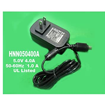 huoniu hnn050400a 5 volt 4 0 amp ac adapter with 3 prong plug rh amazon ca three prong plug wires