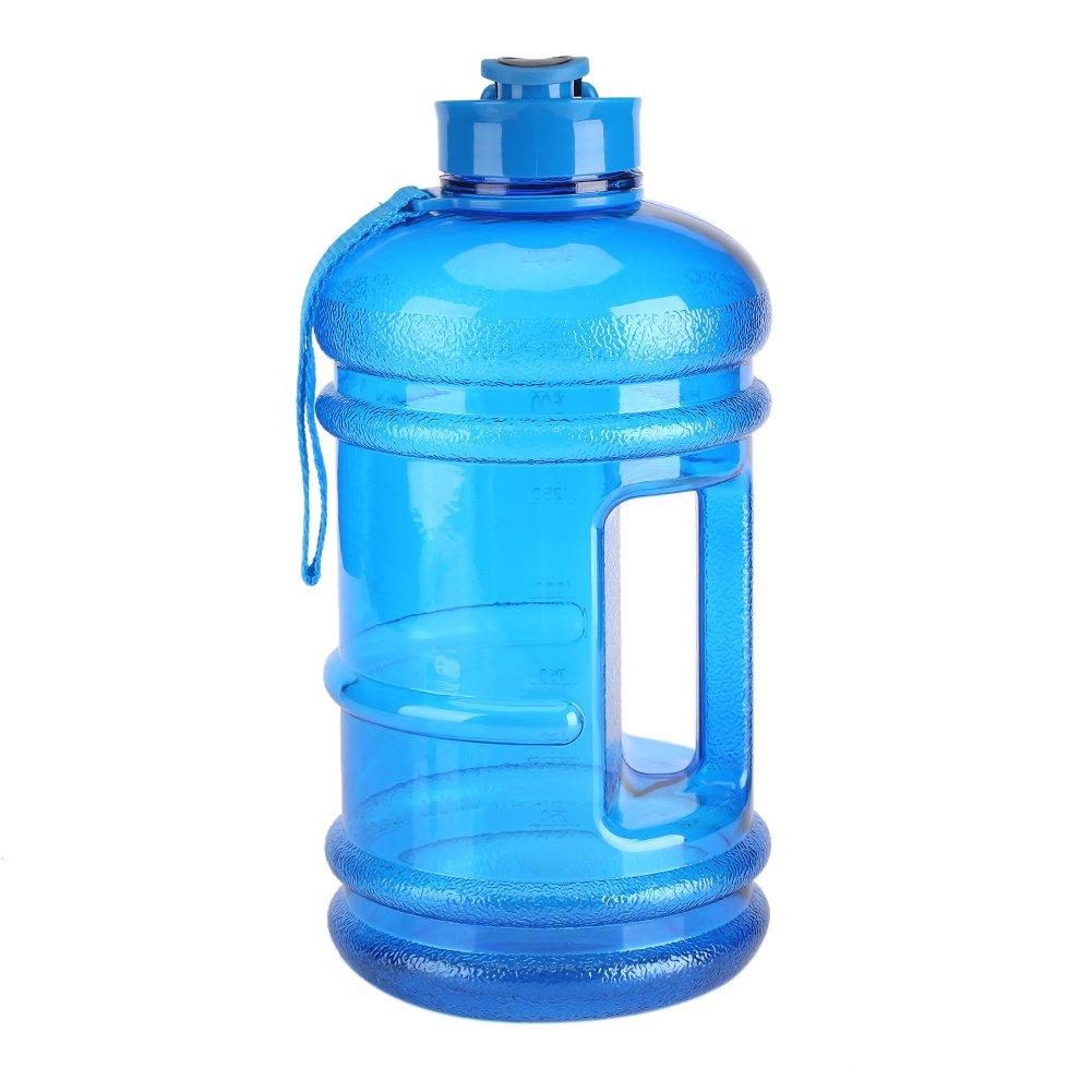 2.2l大容量スポーツウォーターボトルキャンプジム飲料水ボトルカップポータブルアウトドアBigボトル ブルー Fdith6diqgp0ex-02  ブルー B0793SQF26