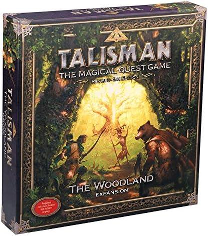 Games Workshop gaw89006 No Talisman: The Woodland Expansion, Juego: Amazon.es: Juguetes y juegos