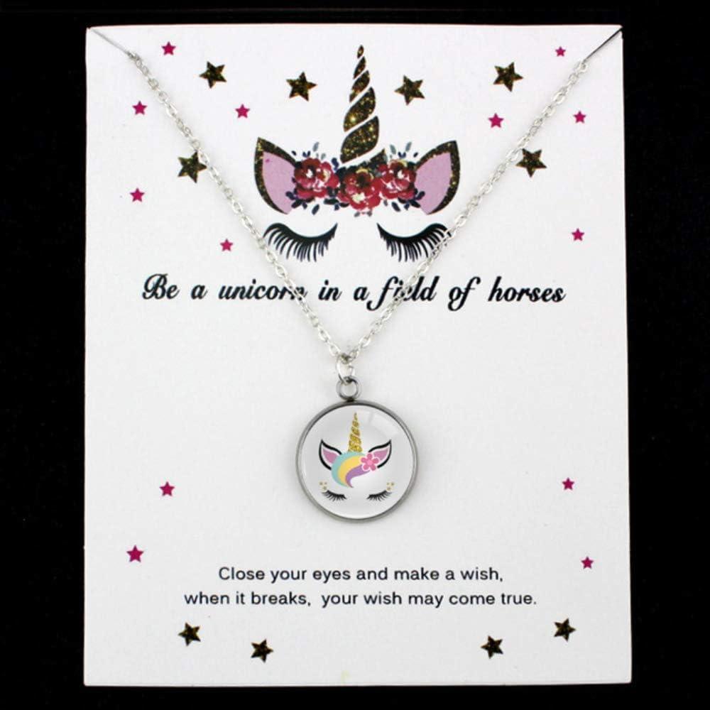 Haiyuan Bracelet Powered by Plants Lotus Leaves Chain Necklaces Unicorn Bear Pineapple Silver Pendants Women Men Unisex Fashion Jewelry Gift