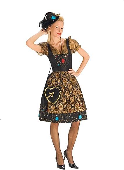 Elbenwald Elegante Trachten Mujer Disfraz para Oktoberfest, Wiesn ...