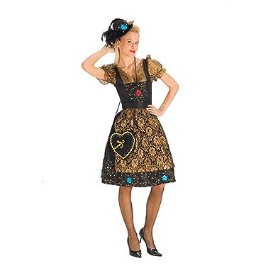Elbenwald Elegante Trachten Mujer Disfraz para Oktoberfest ...