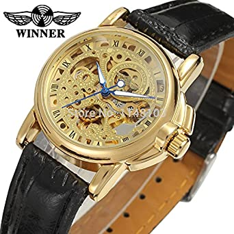 Automatic Mechanical Watch Winner Women Dress Watches Reloj Mujer