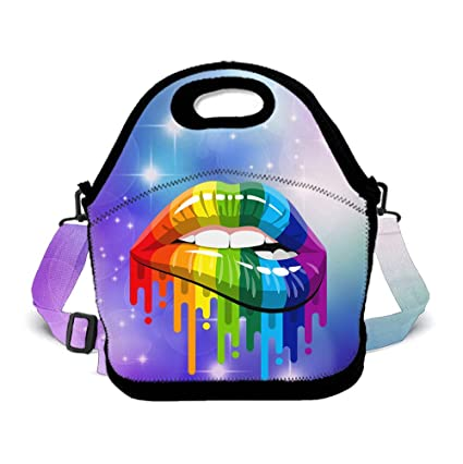Amazon.com - POP MKYTH Large Lunch Box Gay LGBT Lesbian ...