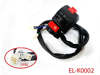 amazon com kill start light choke switch for 90cc 110cc 125ccimage unavailable image not available for color kill start light choke switch for 90cc 110cc 125cc chinese atv