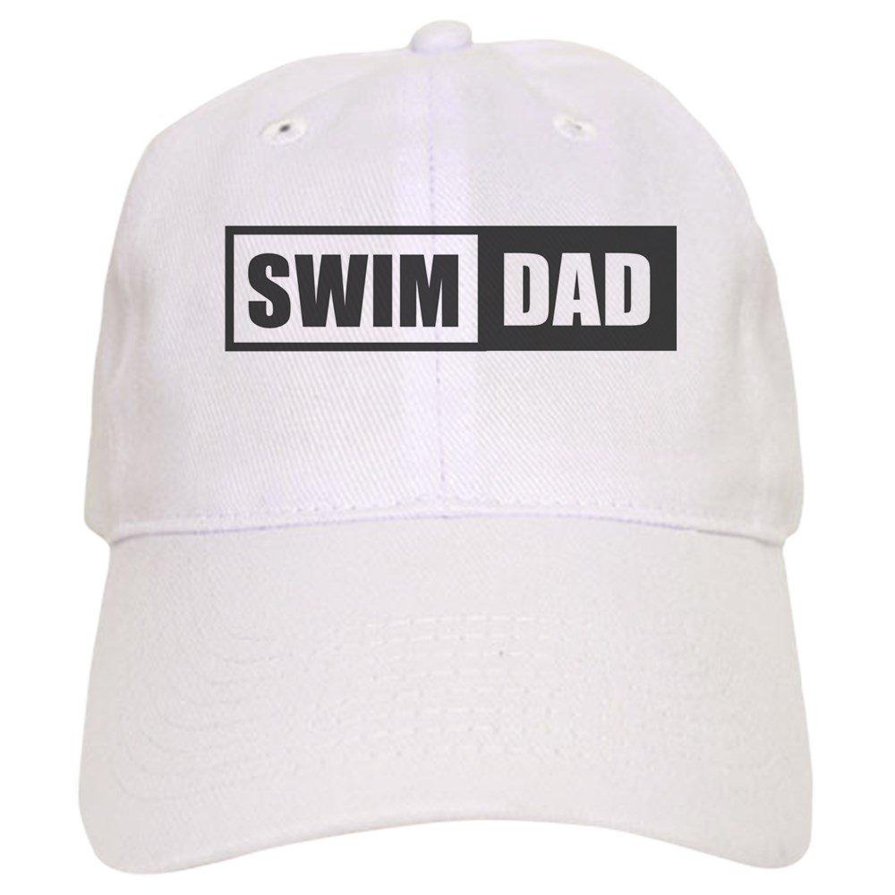 09e477cb2 Amazon.com: CafePress - Swim Dad Cap - Baseball Cap with Adjustable ...