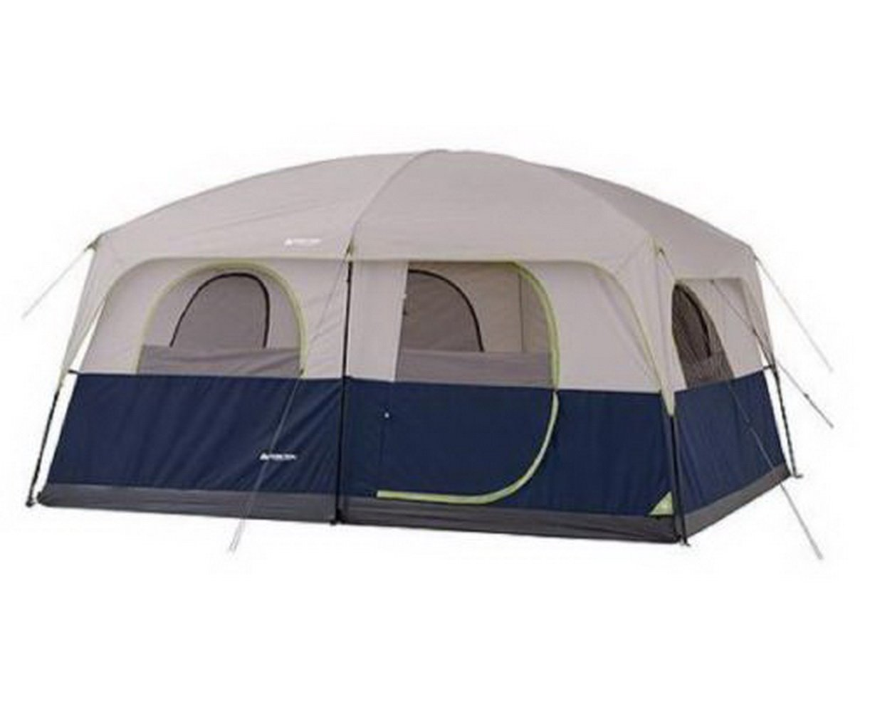 10 Person Tent 2 Rooms Instant Outdoor Family Trail Hunting Camping Cabin Wall by OZARK   B00VIEESY6
